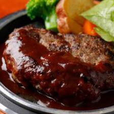 神戸牛ハンバーグステーキ