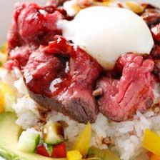 神戸牛ローストビーフ丼