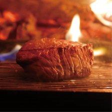 神戸牛のステーキ